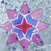Winter Star Art Print