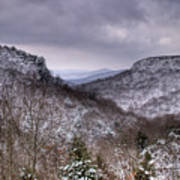 Winter Valley Art Print