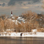 Winter View Of Allenstown Art Print
