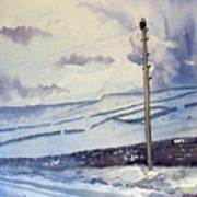 Winter Walkers Art Print