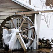 Winter Wheel Art Print