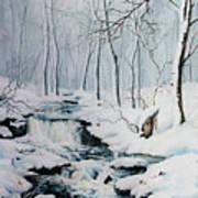 Winter Whispers Art Print