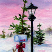 Winter Wonderland Aceo Art Print
