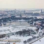 Winter Wonderland In Stockholm Art Print
