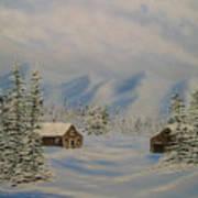 Winters Beauty Art Print