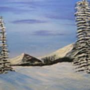 Winters Chill Art Print