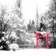 Winter's Entrance Art Print