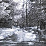 Winter's Gates Art Print