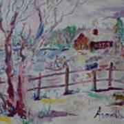 Winter's Joys Art Print