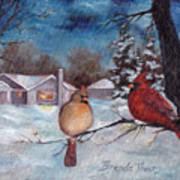 Winters Serenity Art Print