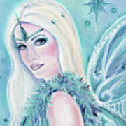 Winters Song Fairy Art Print