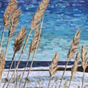 Wintertime On Lake Erie Art Print