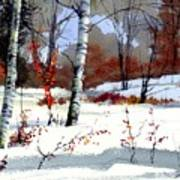 Wintertime Painting Art Print