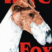 Wire Fox Terrier Art Print
