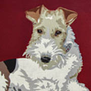 Wirehaired Fox Terrier Art Print