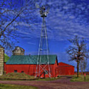 Wisconsin Amish Farm Art Print