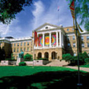 Wisconsin Bright Colors At Bascom Art Print by UW Madison University Communications