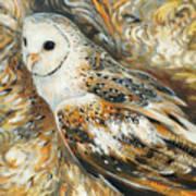 Wise Owl 4 Art Print