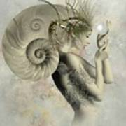 Wish On A Pearl Art Print