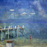 Wish You Were Here Chambers Landing Lake Tahoe Ca Art Print