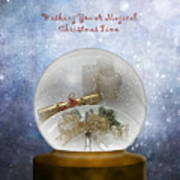 Wishing You A Magical Christmas Time Art Print