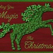 Wishing You Magic This Christmas Art Print