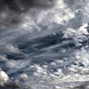 Wispy Skies Art Print