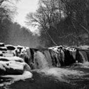 Wissahickon Snow Art Print