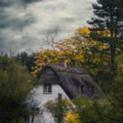 Witch Cottage Art Print