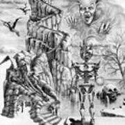 Witch Hunter Art Print