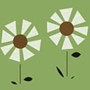 Witco Flowers  Art Print