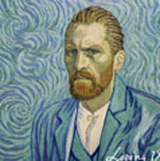 With A Handshake - Your Loving Vincent Art Print