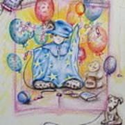 Wizard Boy Art Print