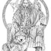 Wizard IIi - The Family Portrait Art Print
