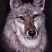 Wolf Buddy Art Print