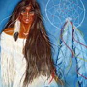Wolf Woman Art Print