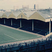 Wolverhampton - Molineux - Molineux Street Stand 2 - Leitch - 1970s Art Print
