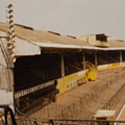 Wolverhampton - Molineux - Waterloo Road Stand 2 - Leitch - 1970s Art Print