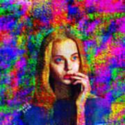 Woman 378 Art Print