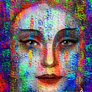 Woman 395 Art Print