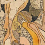 Woman Disrobing Art Print