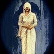 Woman In White - Widow Art Print