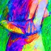 Woman Of Earth Art Print