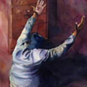 Woman Of Praise Art Print by Lewis Bowman