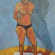 Woman V  Art Print