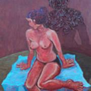 Woman Vi Art Print