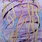 Women Figure Art Print