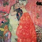 Women Friends Art Print