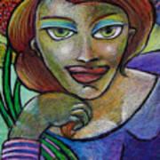 Women Reclining Art Print
