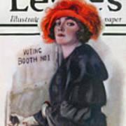 Women Voting, 1920 Art Print